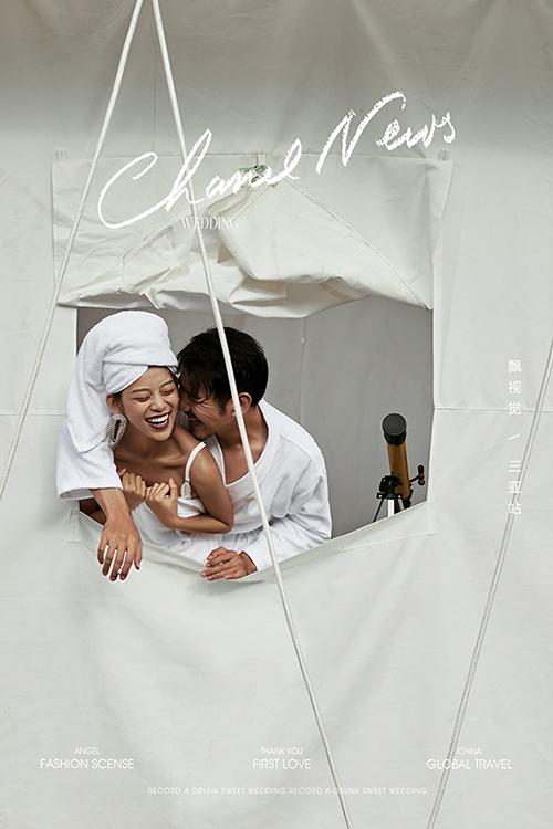 時髦旅拍-帳篷浴袍